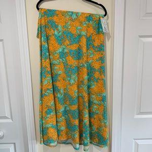 NWT XL Maxi skirt. Floral. By LuLaRoe